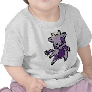 El MOO púrpura Camisetas