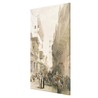 """EL Mooristan, El Cairo de la mezquita, de """"Egipto  Impresion De Lienzo"""