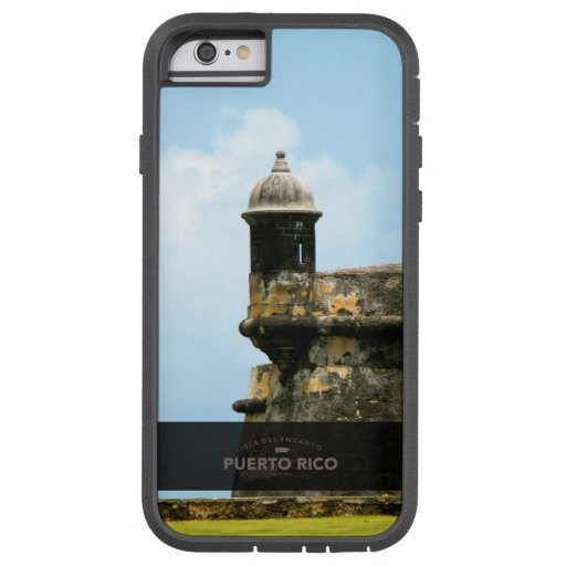 EL Morro, Puerto Rico Funda De iPhone 6 Tough Xtreme