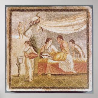El mosaico de Centocelle Póster