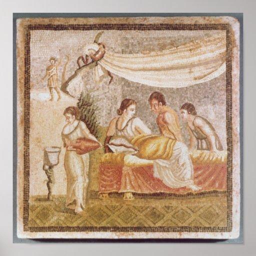 El mosaico de Centocelle Posters