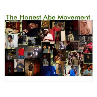 El movimiento honesto de Abe Postal