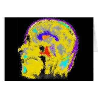 El MRI colorized de la marca Tarjeta De Felicitación