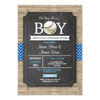 El muchacho azul de la fiesta de bienvenida al invitación 12,7 x 17,8 cm