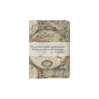 El mundo antiguo del mapa del mundo el | es una porta pasaportes