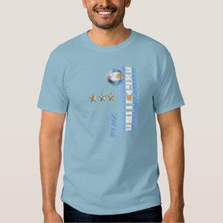 El mundo de la Argentina defiende la bandera 2014 Camiseta