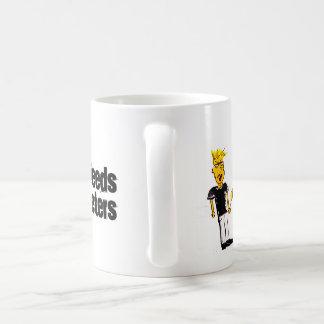 El mundo necesita a más vendedores taza de café