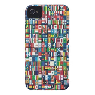 El mundo señala la caja del iPhone por medio de iPhone 4 Protectores