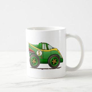 El mundo verde fabrica las tazas del coche del cam