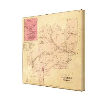 El municipio de Jackson Impresiones De Lienzo