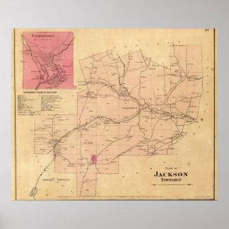 El municipio de Jackson Poster