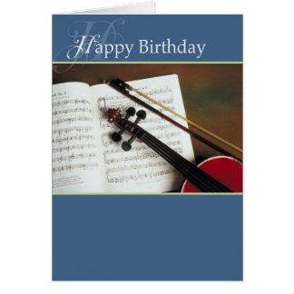 El Musical ata feliz cumpleaños Tarjeta De Felicitación