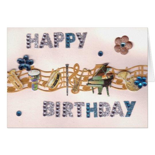 El Musical chispea tarjeta de cumpleaños