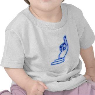 El nach del dedo oben para arriba camisetas