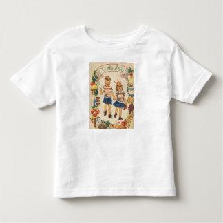 El nacido en el baby boom embroma las compras - camiseta de bebé