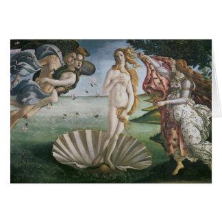 El nacimiento de Venus Felicitacion