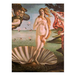 El Nacimiento de Venus Postal