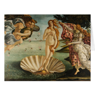 El nacimiento de Venus Tarjeton