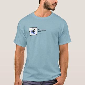 El nadar favorable (pequeño logotipo) camiseta