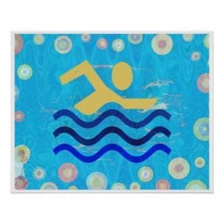 El nadar:  Los tiempos calientes refrescan mente Impresiones