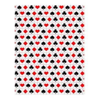 El naipe se adapta al modelo folleto 21,6 x 28 cm