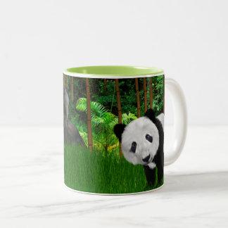 El Napping en la taza de café de bambú de la