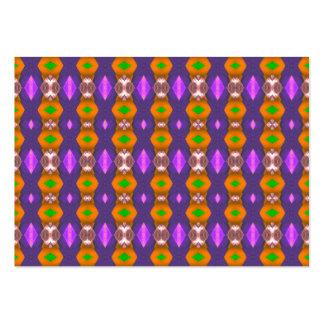 El naranja violeta encadena el modelo abstracto plantillas de tarjetas personales