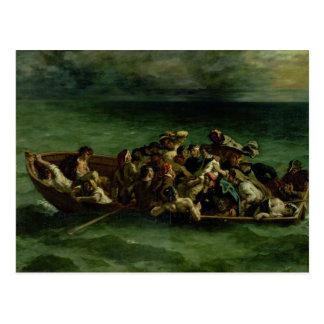 El naufragio de Don Juan, 1840 Postal
