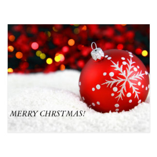 ¡el navidad adorna 3 FELIZ CHRSTMAS Tarjetas Postales