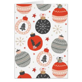 """El """"navidad adorna"""" la tarjeta de felicitación del"""