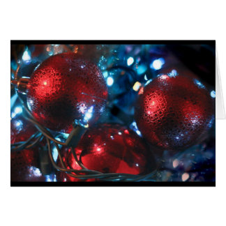 El navidad adorna la vida inmóvil 2016 tarjeta
