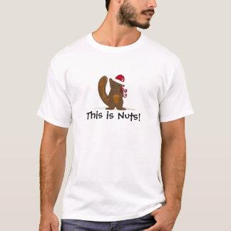 El navidad atesora con el refrán divertido camiseta