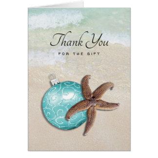 El navidad de la playa le agradece tarjeta del