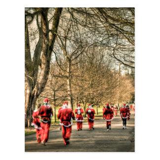 El navidad del padre el 10km corre en Greenwich, Postal