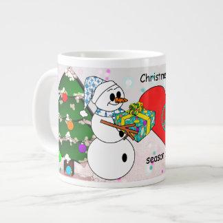 El navidad es la estación de dar la taza de café