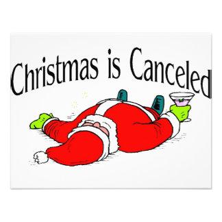 El navidad es Santa bebido cancelado Anuncio