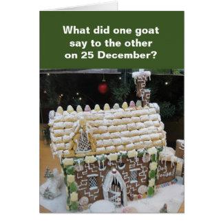 El navidad está para la tarjeta de los niños