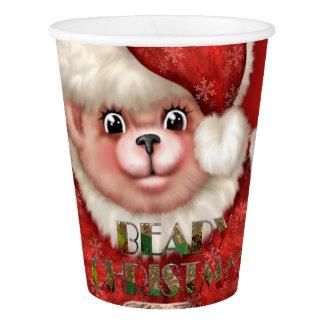El navidad lleva 5 tazas de papel, 9 onzas vaso de papel