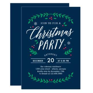 El navidad mide el tiempo de la invitación