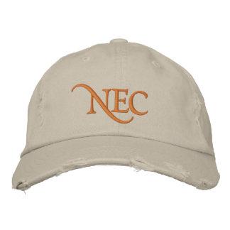 El NEC apenó el gorra bordado tipo de tela de