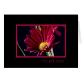 El negocio rojo de la flor del grupo consigue pron tarjeta de felicitación