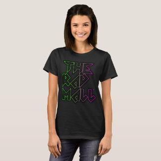 """El negro"""" de la camiseta del """"eje de balancín de"""
