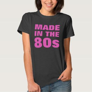 El negro de las mujeres hecho en los años 80 camisas