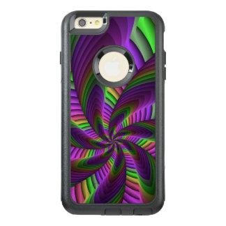 El neón colorea el modelo colorido loco de funda otterbox para iPhone 6/6s plus