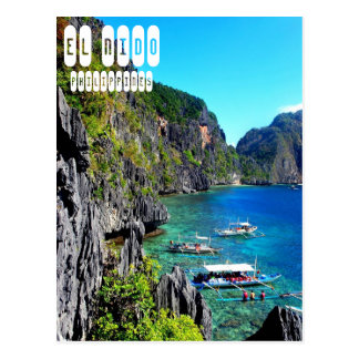 EL Nido en la postal de Filipinas
