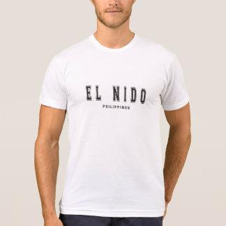 EL Nido Filipinas Camiseta