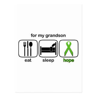 El nieto come la esperanza del sueño - linfoma postal
