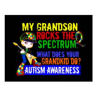 El nieto oscila el autismo del espectro postal