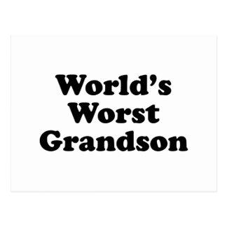 El nieto peor del mundo postal