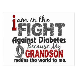 El nieto significa el mundo a mí diabetes postal